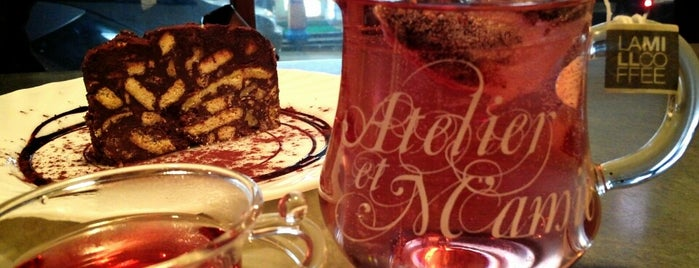 Atelier et M'amie is one of Coffee&desserts.