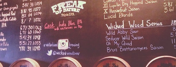 Wicked Weed Brewing is one of America's Best Breweries.