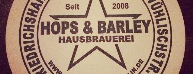 Hops & Barley is one of Food & Fun - Berlin.