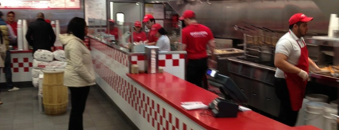 Five Guys is one of Friends in ny.