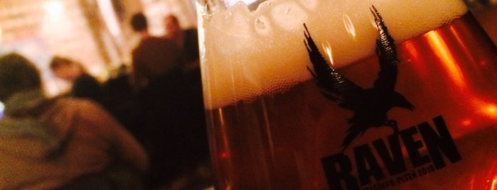 Diego pivní bar is one of The 15 Best Places for a Craft Beer in Prague.