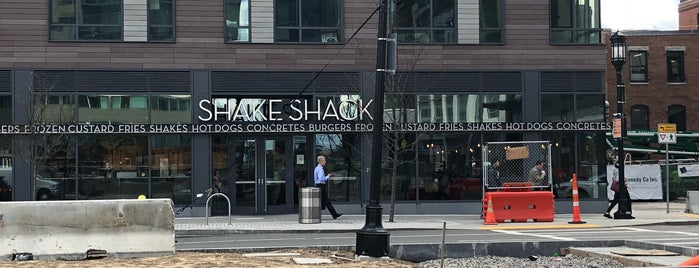 Shake Shack is one of Boston food.