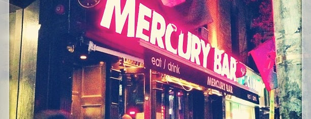 Mercury Bar is one of Must-visit Bars in New York.