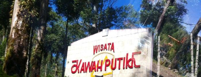 Kawah Putih is one of My Hometown.