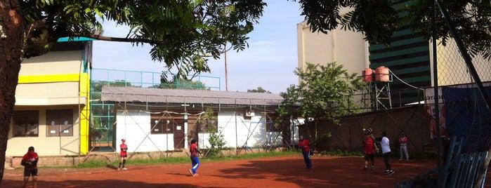 Lapangan Softball / Baseball Lodaya is one of My Hometown.