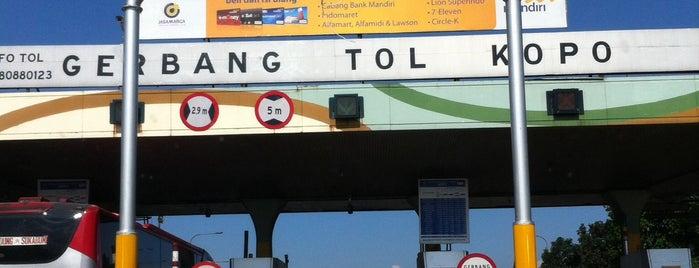 Gerbang Tol Kopo is one of My Hometown.