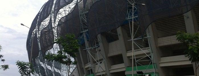 Stadion Gelora Bandung Lautan Api (GBLA) is one of My Hometown.