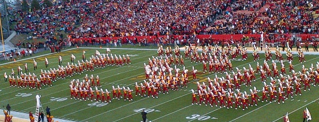 Jack Trice Stadium is one of Best Places for a Townie to Drink in Ames.