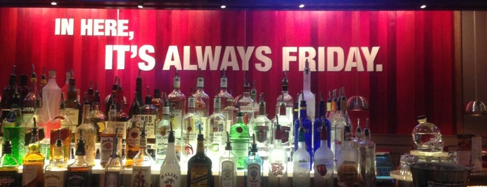 TGI Fridays is one of Cool down.
