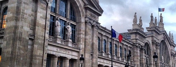 Paris Nord Railway Station is one of Paris.
