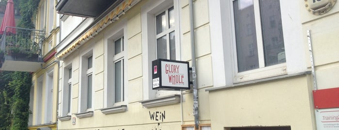 Glory Whole is one of BarChick's Best Wine Bars.