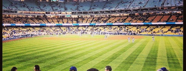 Dodger Stadium is one of L.A..