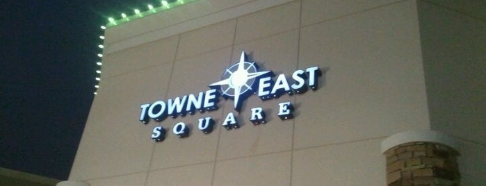 Towne East Square is one of stuff I've done.