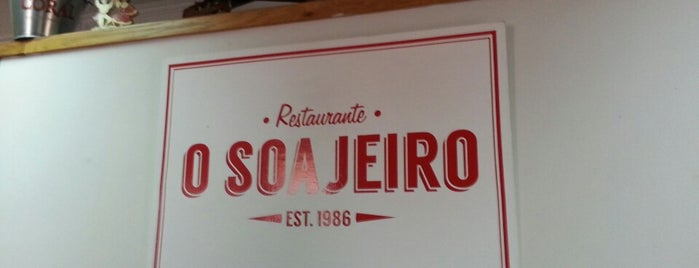 O Soajeiro is one of Restaurantes.