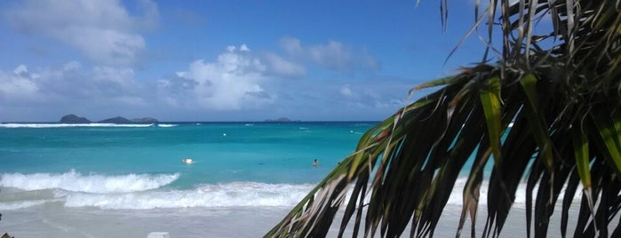 La Plage is one of nice to relax - Caribbean.