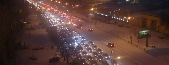 Улица Челюскинцев is one of ___.
