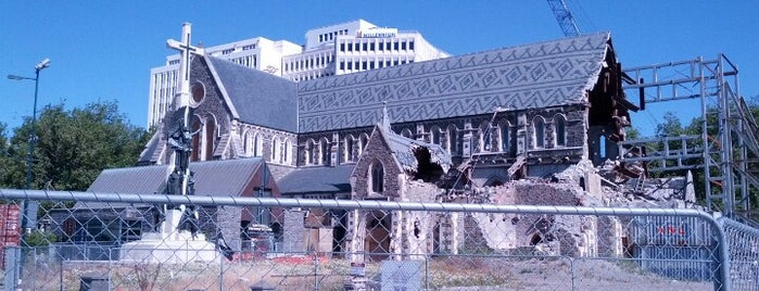 Christchurch Cathedral Ruins is one of Around The World: SW Pacific.