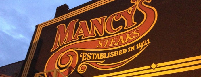 Mancy's Steakhouse is one of The 15 Best Places for Desserts in Toledo.