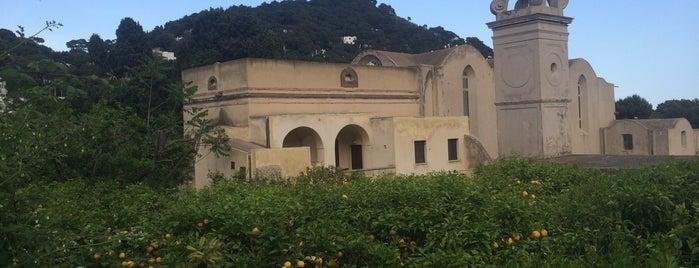Certosa di San Giacomo is one of Sorrento-Capri.