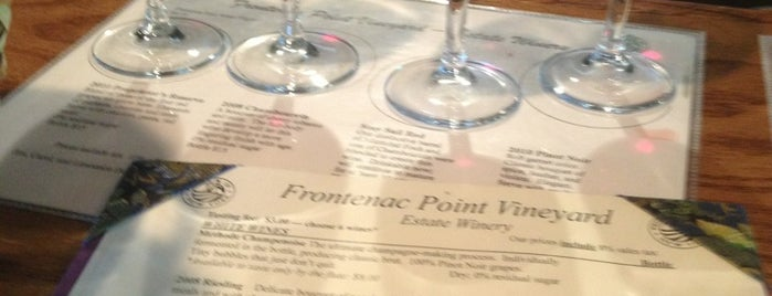Frontenac Point Winery is one of New York State Wineries.