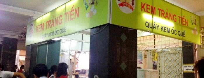 Kem Tràng Tiền is one of Ăn vặt Hà Nội.