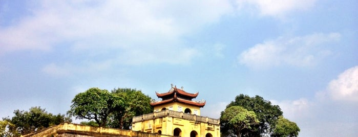 Hoàng Thành Thăng Long (Imperial Citadel of Thang Long) is one of UNESCO World Heritage Sites (Asia).