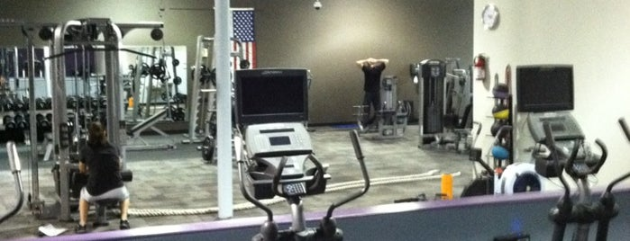 Anytime Fitness is one of Favorites.