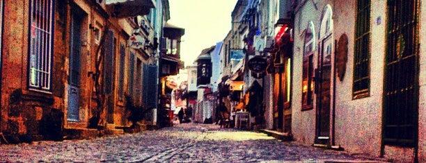 Alaçatı Çarşı is one of themaraton.