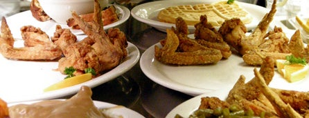 Gladys Knight's Signature Chicken & Waffles is one of Atlanta's Best Southern Food - 2012.