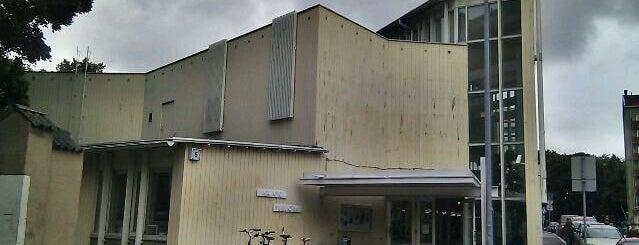 Vallilan kirjasto is one of HelMet-kirjaston palvelupisteet.