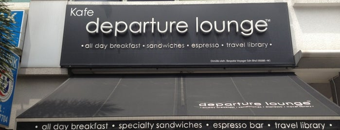 Departure Lounge is one of Coffee.