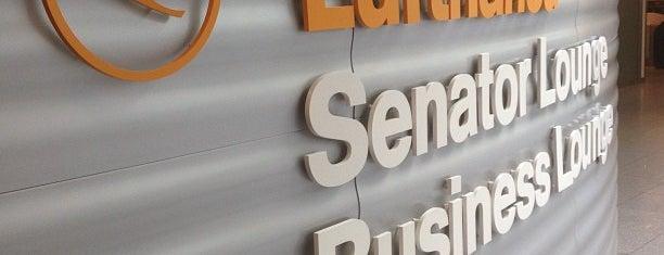 Lufthansa Senator Lounge II (Schengen) is one of Lufthansa Lounges.
