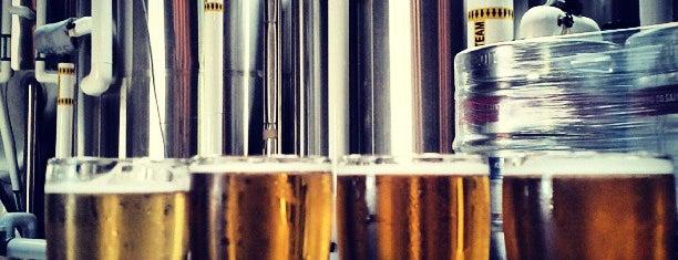 Saint Archer Brewing Company is one of LAS/LAX/SAN.