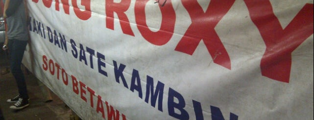 Sop Kaki Kambing Dudung Roxy is one of All-time favorites in Indonesia.