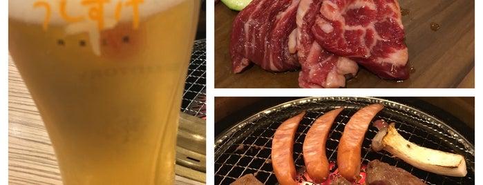 肉菜工房 うしすけ 台場店 is one of dog restaurant.