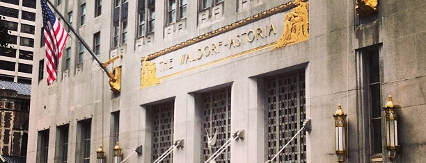 Waldorf-Astoria is one of NY.