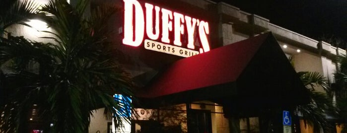 Duffy's Sports Grill is one of Top Local Bars for Florida fans.