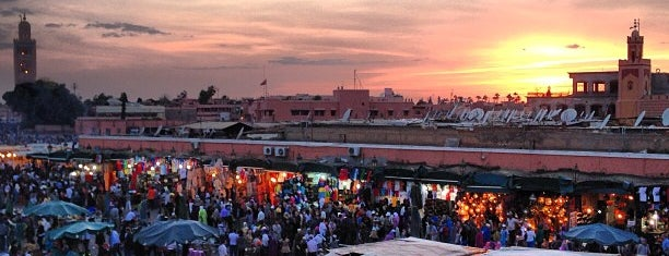 Place Jemaa el-Fna is one of Go Ahead, Be A Tourist.