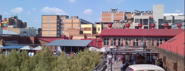 Arts on Main is one of Johannesburg.