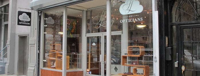Silver Lining Opticians is one of best eyeglass stores for four eyed fun.