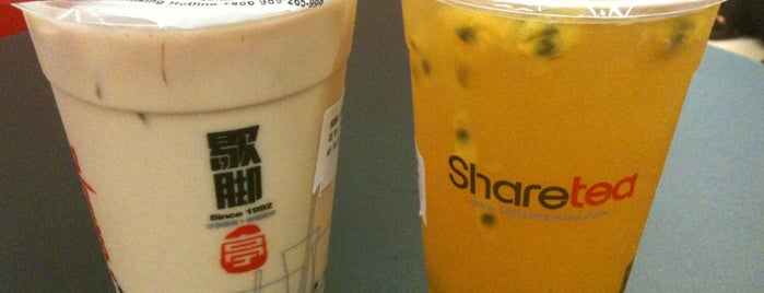 Share Tea (歇脚亭) is one of makan @ KL #16.