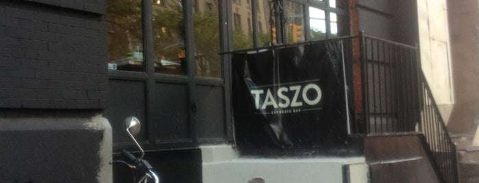 Taszo Espresso Bar is one of Dining in Harlem (cafes, bistros, sandwich shops).