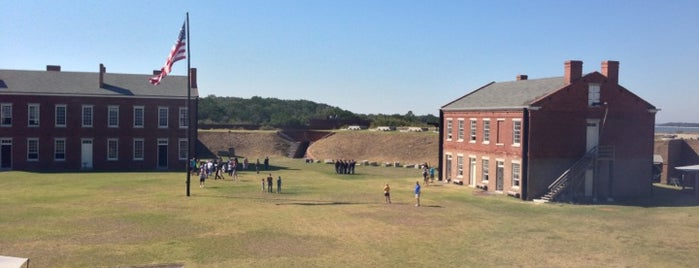 Fort Clinch State Park is one of Parks & Trails.