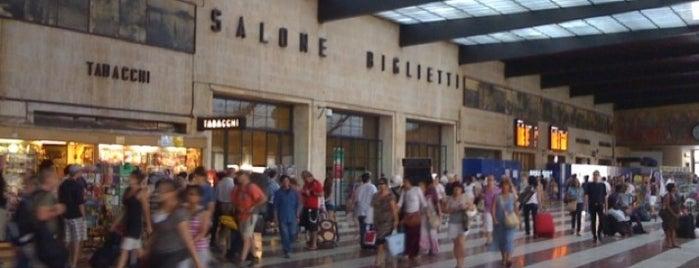 Stazione Firenze Santa Maria Novella is one of anna e selin.