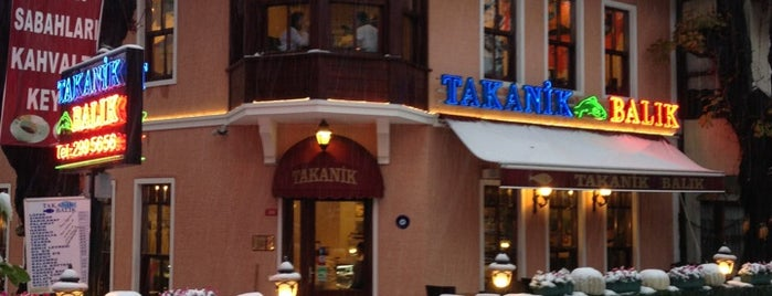 Takanik Balık is one of Guide to Yeniköy's best spots.