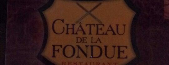 Chateau de La Fondue is one of Food.