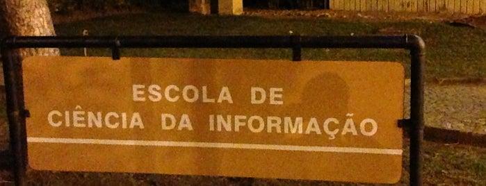 ECI - Escola de Ciência da Informação is one of Campus.