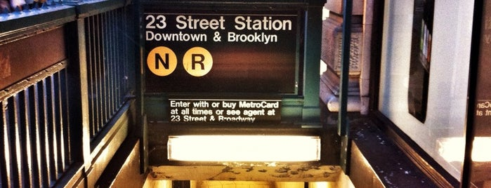 MTA Subway - 23rd St (R/W) is one of Subway Stations.