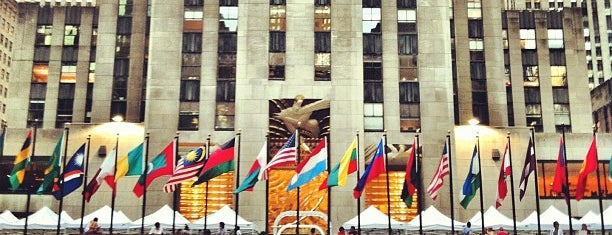 Rockefeller Center is one of Sights in Manhattan.