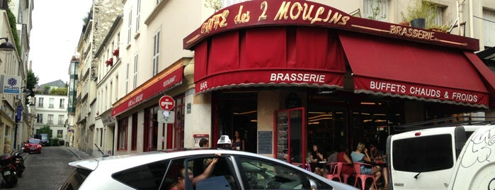 Café des Deux Moulins is one of The Hit List.